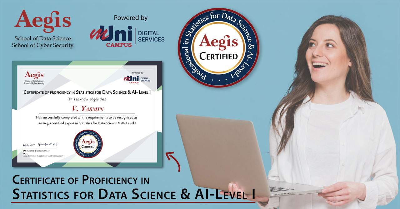 Certificate of Proficiency in Statistics for Data Science & AI