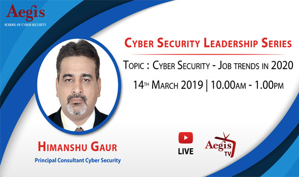 Cyber Security Industry Speaker Series March 2020