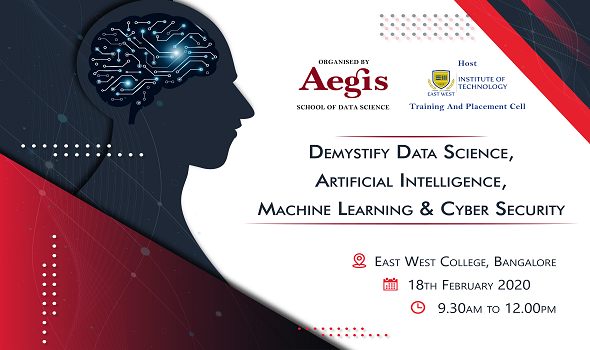Demystify Data Science, ML, AI, & CS & Day at East West College, Bangalore