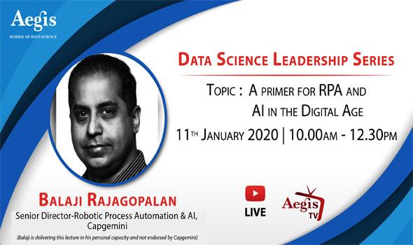 Data Science Leadership Series Jan 2020