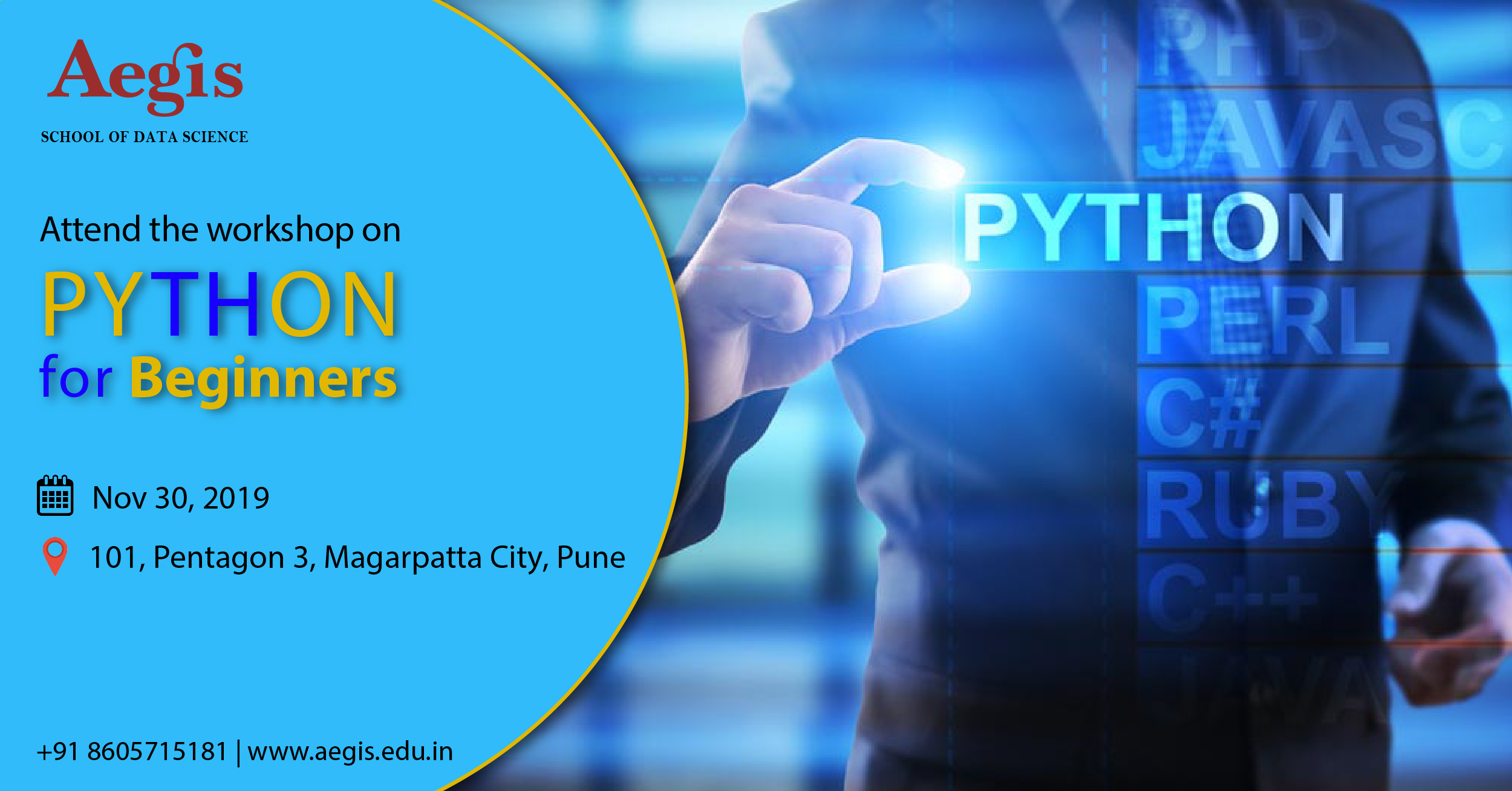 Workshop on Python for Beginners, Pune